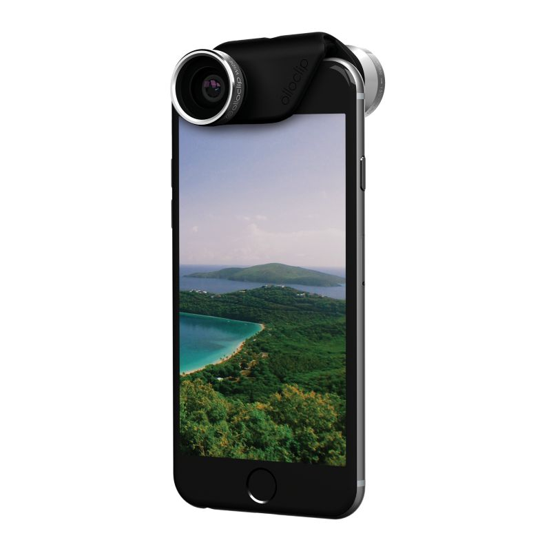 olloclip 4-IN-1 Lens Set für iPhone 6 / 6S / 6+ / 6S+ silber