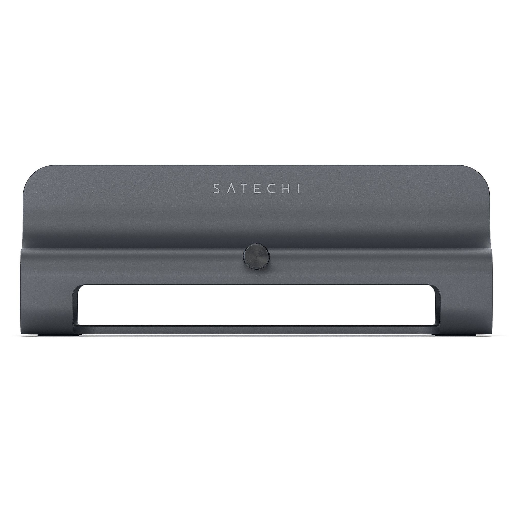 Satechi Aluminum Laptop Stand vertical matt schwarz