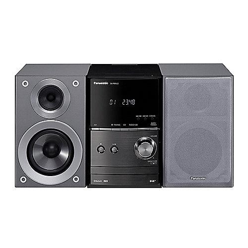 CP7A21-158 Panasonic SC-PM602EG-S Mikrosystem mit Bluetooth und DAB+ silber