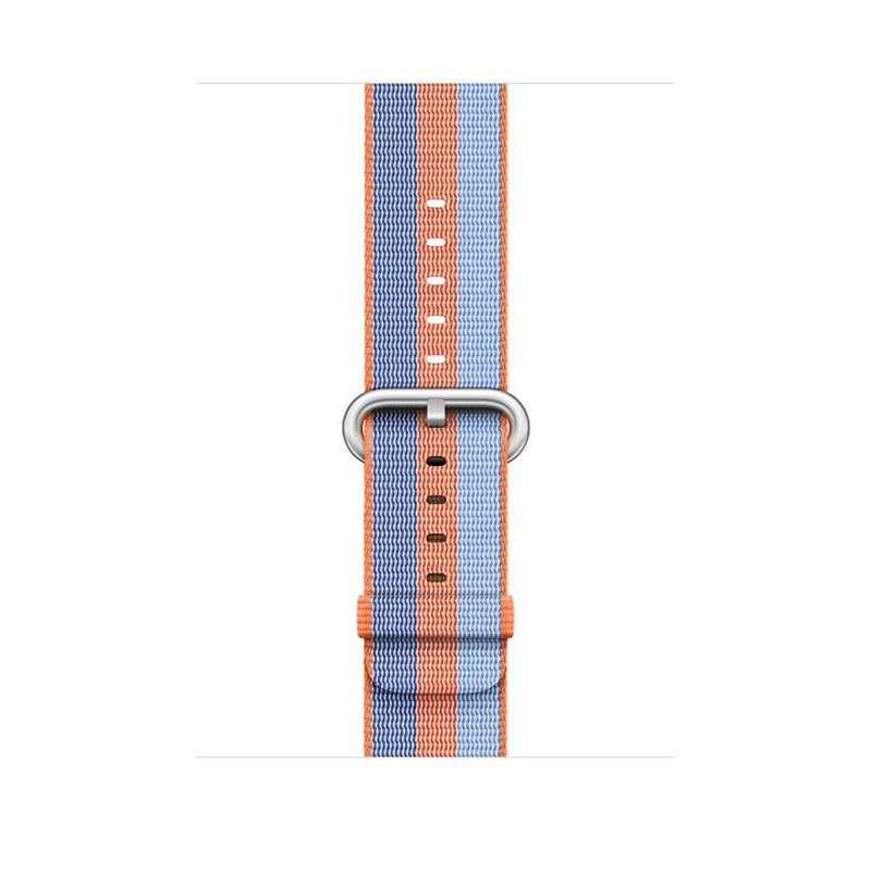 Apple Watch 42mm Armband aus gewebtem Nylon Orange(gestreift) - MPW22ZM/A