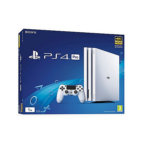 Sony PlayStation 4 Pro 1TB Konsole weiß