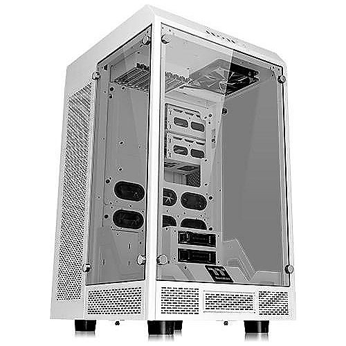 Thermaltake The Tower 900 Full Tower E-ATX Snow Edit. mit 3 Sichtfenster (o.NT.)