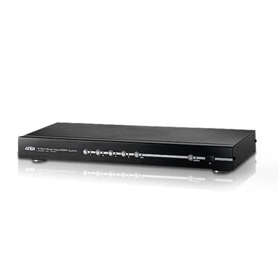 Aten  VS482 4 Port Dual View HDMI Switch   4710423777750