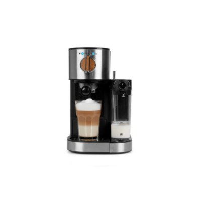 Medion  17116 Espressomaschine mit integriertem Milchaufschäumer | 4055432136366