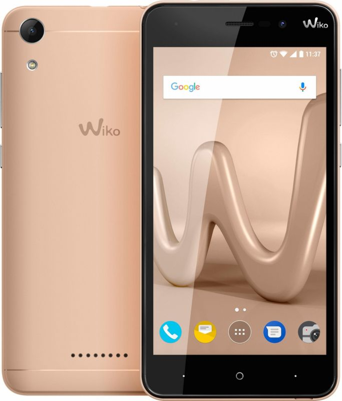 Wiko Lenny 4 Dual-SIM gold Android 7.0 Smartphone
