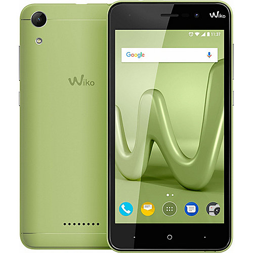 Wiko Lenny 4 Dual-SIM lime Android 7.0 Smartphone