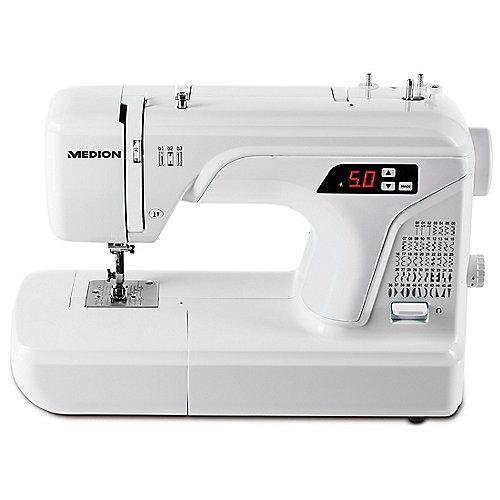 Medion 16661 Digitale Nähmaschine weiß | 4015625166617