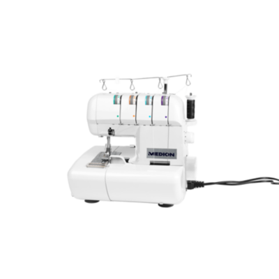 Medion  14302 Overlock-Nähmaschine weiß | 4015625143021