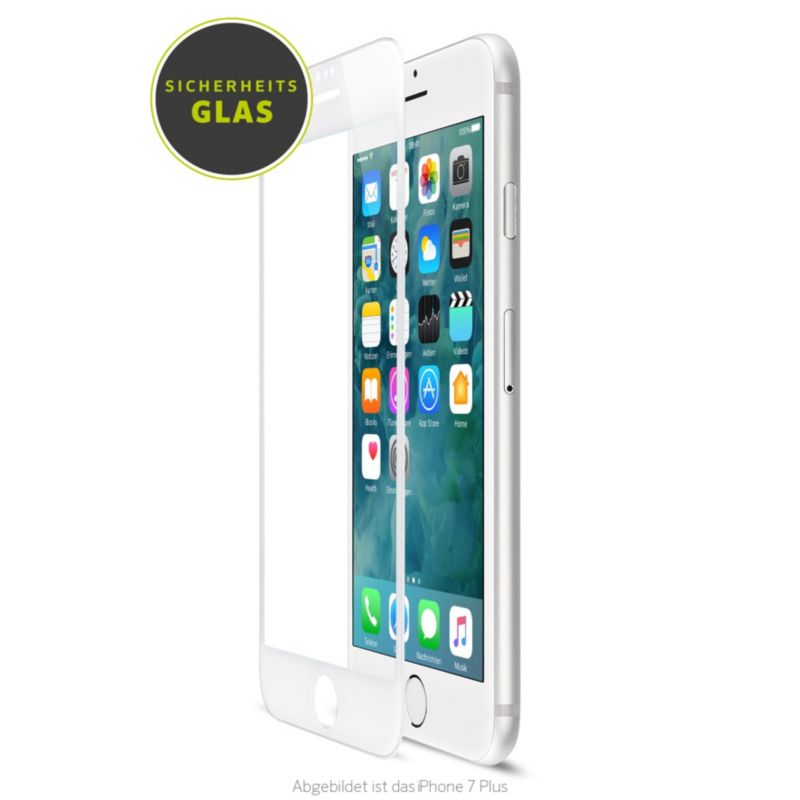 Artwizz CurvedDisplay Glass für iPhone 8/7/6, schwarz