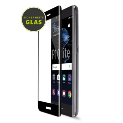 Artwizz  CurvedDisplay Glass für Huawei P10 lite, schwarz | 4260458884720