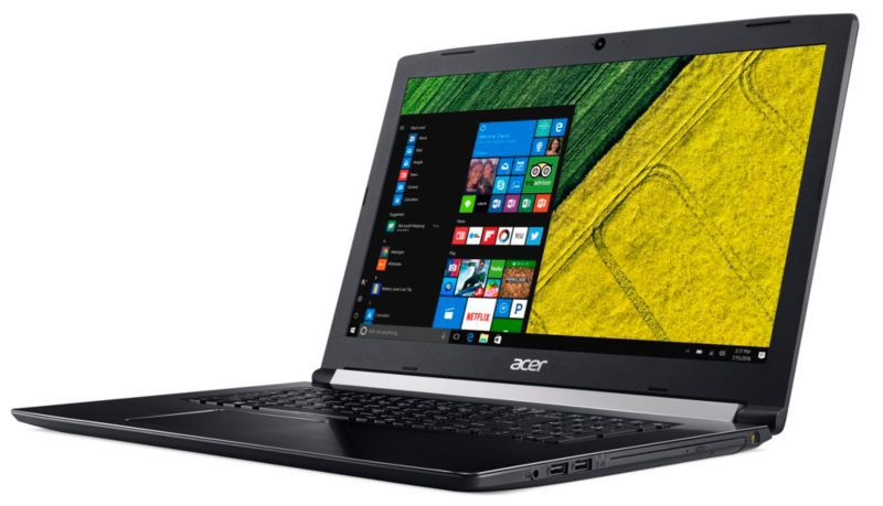 "Acer Aspire 5 A517-51G-55BM i5-8250U 4GB/1TB HDD 17"" HD+ GF MX130 W10"