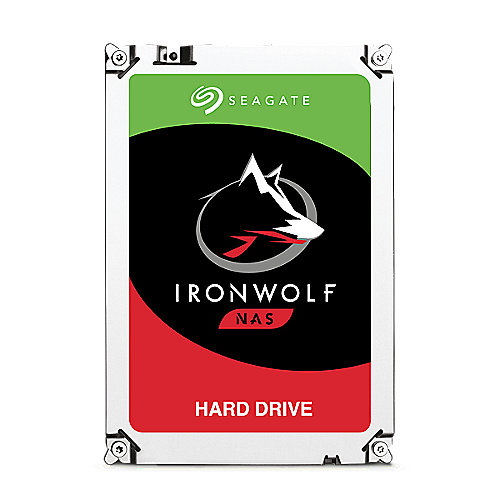 Seagate IronWolf NAS HDD ST6000VN0033 - 6TB 7200rpm 128MB 3.5zoll SATA600