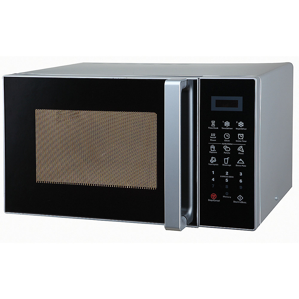 Comfee by Midea Mikrowelle/Grill CMG23 DS 23 Liter Silber/Schwarz
