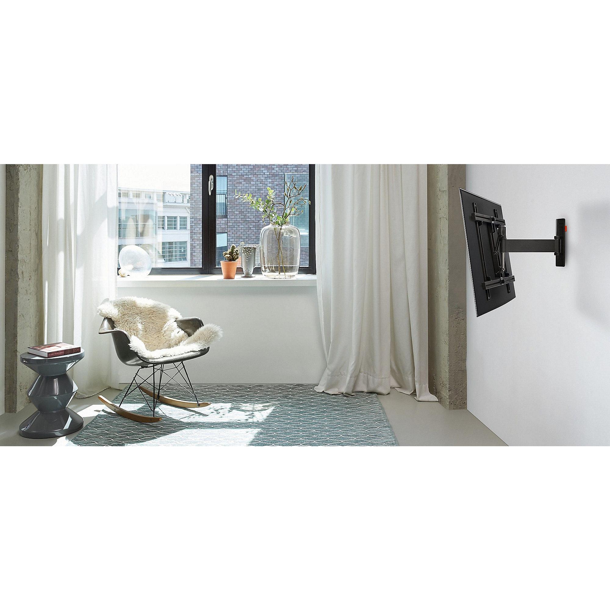 vogels wall 3225 wandhalterung vesa 100x100 bis 400x400 mm schwarz cyberport. Black Bedroom Furniture Sets. Home Design Ideas