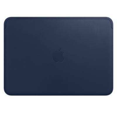 Apple  12″ MacBook Lederhülle – Mitternachtsblau | 0190198491022