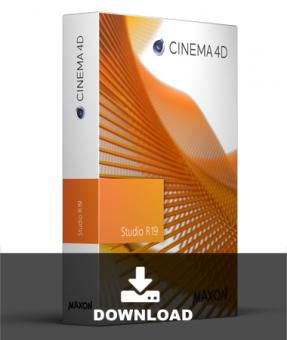 Maxon Cinema 4D R19 Studio Lizenz Upgrade from C4D Visualize R16 to Studio R19