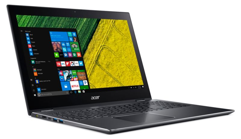 "Acer Spin 5 SP515-51N-50R1 i5-8250U 8GB/256GB SSD 15"" FHD 2in1 Touch W10"