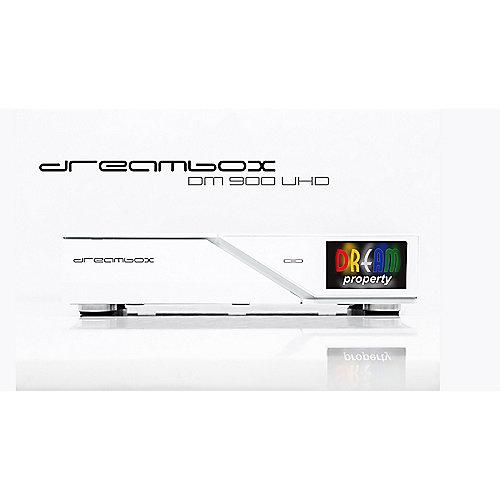 Dreambox DM900 WE 4K UHD DVB-C/T2-Dual-Tuner-Re...
