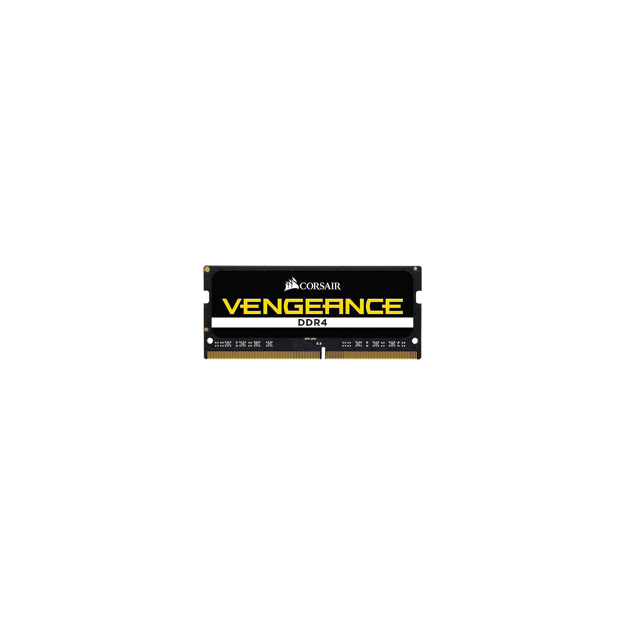 32GB (2x16GB) Corsair Vengeance DDR4-2400 MHz CL 16 SODIMM Notebookspeicher Kit