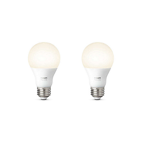 Philips Hue White E27 LED Lampe Doppelpack