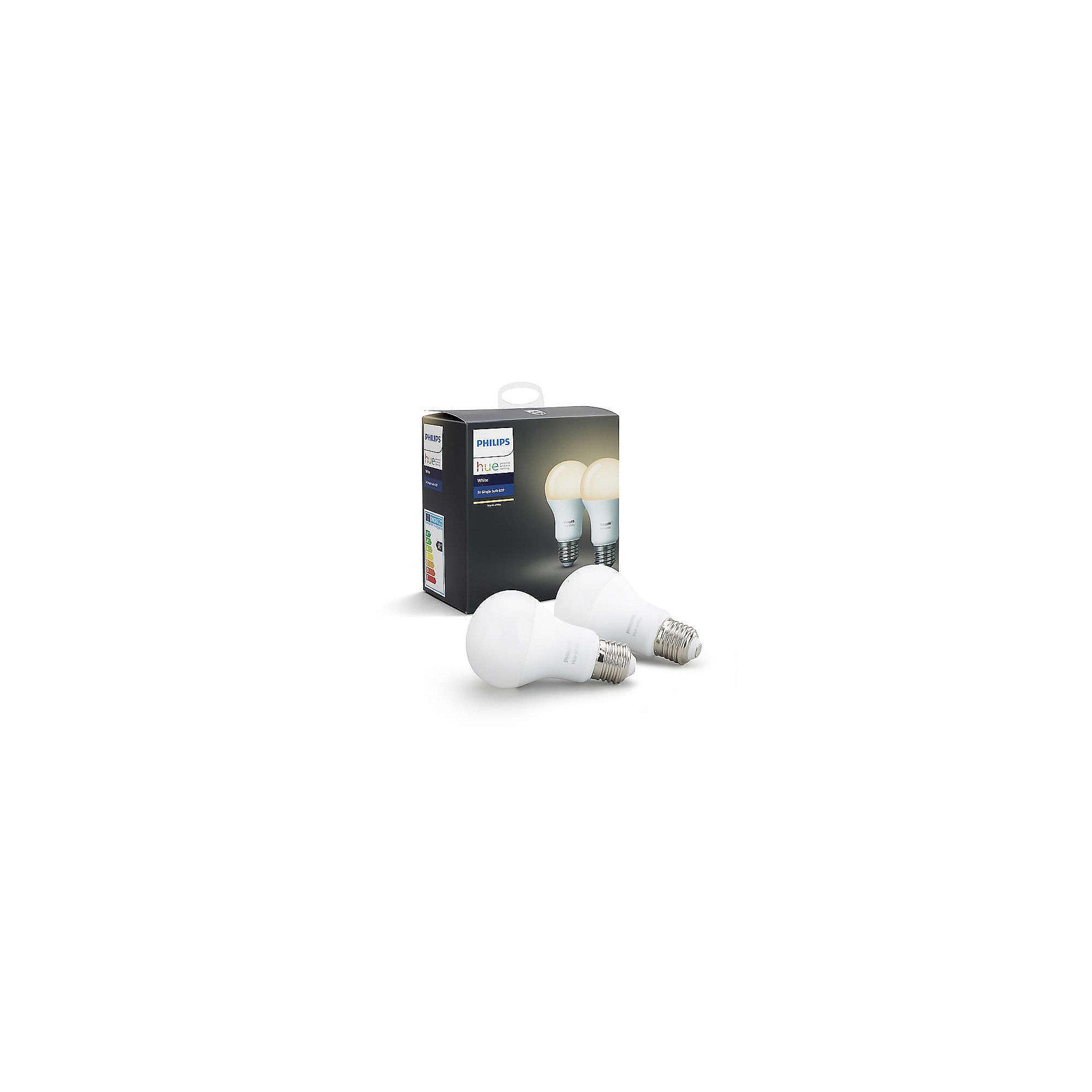 philips hue white e27 led lampe doppelpack cyberport. Black Bedroom Furniture Sets. Home Design Ideas