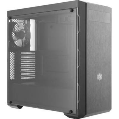 Cooler Master  MasterBox MB600L Midi Tower ATX Gehäuse mit Sichtfenster sw/grau | 0884102037412