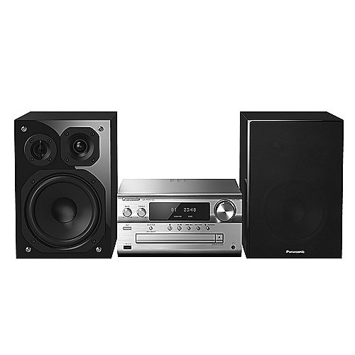 Panasonic SC-PMX152EGS HiFi System mit DAB+, AirPlay, Bluetooth und Multiroom