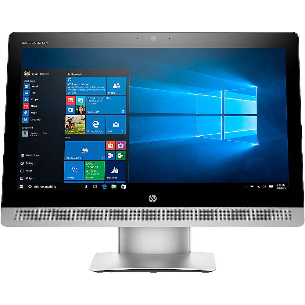 ".HP EliteOne 800 G2 AiO 3CL12ES i5-6500 8GB/256GB SSD Intel HD530 23"" FHD W10P"