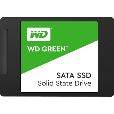 Western Digital WD Green 3D NAND SATA SSD 120GB 6Gb/s 2.5″/7mm | 0718037858517