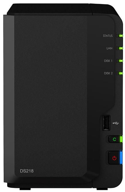 Synology Diskstation DS218 NAS System 2-Bay