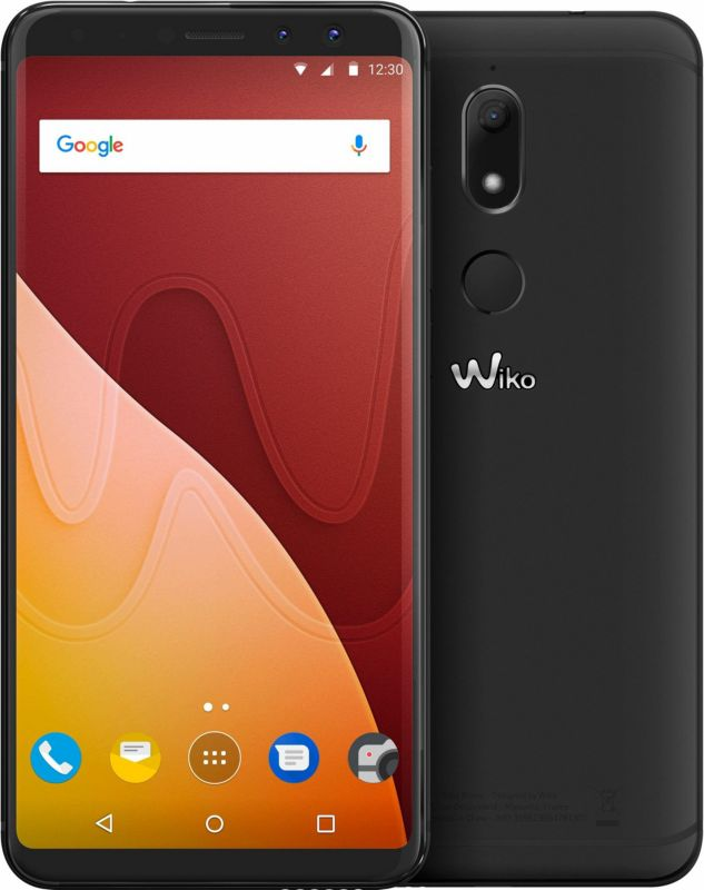 Wiko View Prime Dual-SIM schwarz Android 7.1 Smartphone