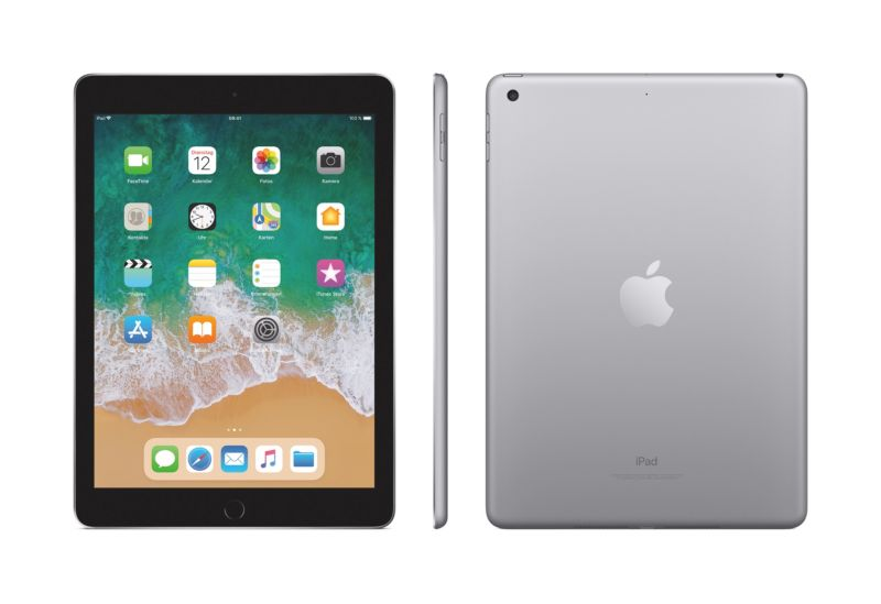 Apple iPad Wi-Fi 128 GB Spacegrau (MP2H2FD/A)