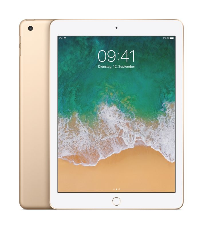 Apple iPad Wi-Fi 128 GB Gold (MPGW2FD/A)