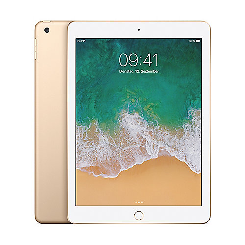 Apple iPad 2017 Wi Fi 128 GB Gold (MPGW2FD A)