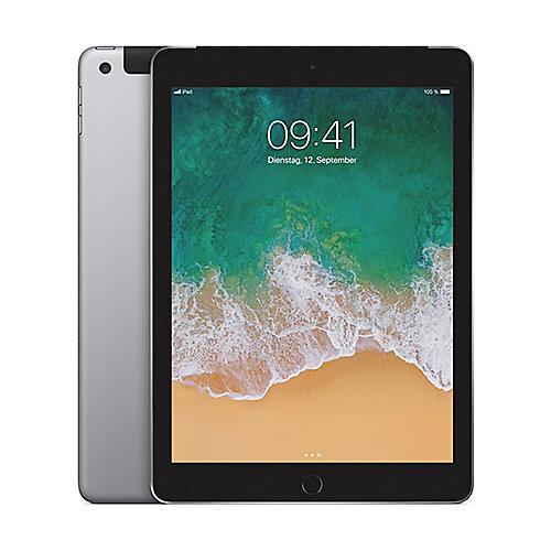 Apple iPad 2017 Wi Fi Cellular 32 GB Spacegrau (MP242FD A)