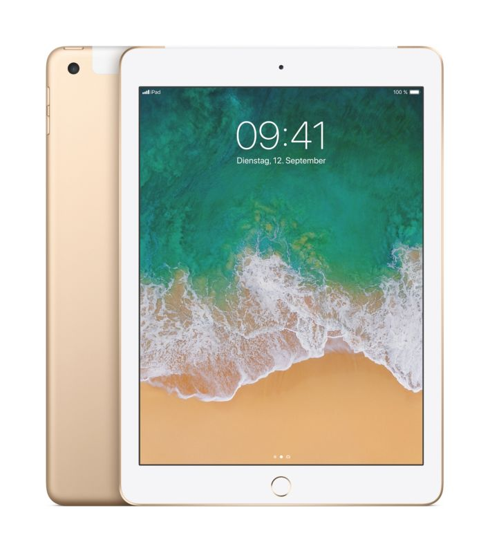 Apple iPad Wi-Fi + Cellular 32 GB Gold (MPGA2FD/A)