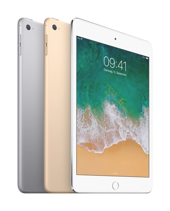Apple iPad mini 4 WiFi 128 GB Space Grau MK9N2FD/A