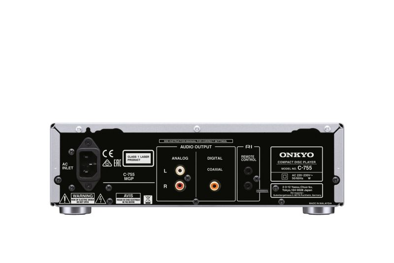 Onkyo C-755-B CD-Player schwarz Compact-Format