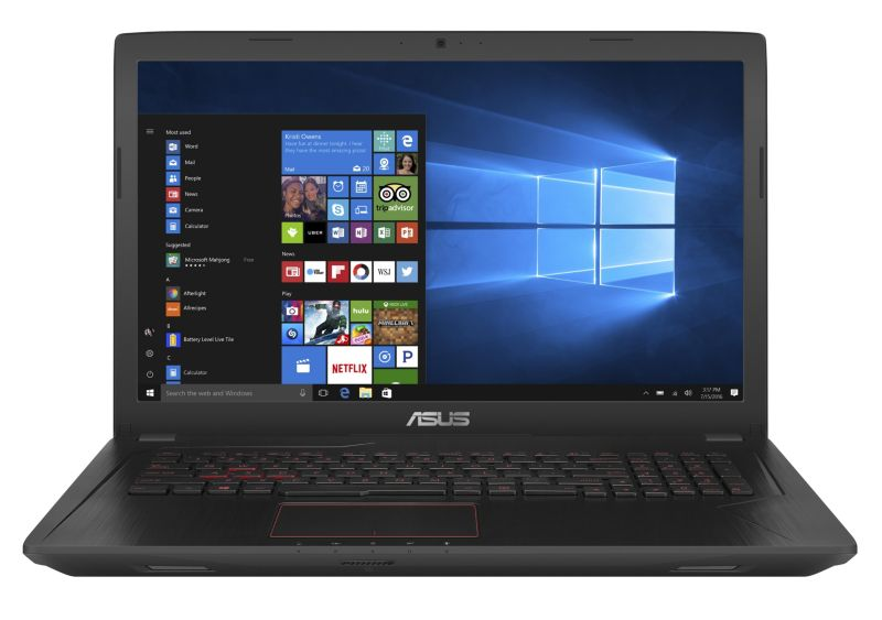 Asus FX553VD-DM248 Gaming Notebook i5-7300HQ SSD Full HD GTX1050 ohne Windows