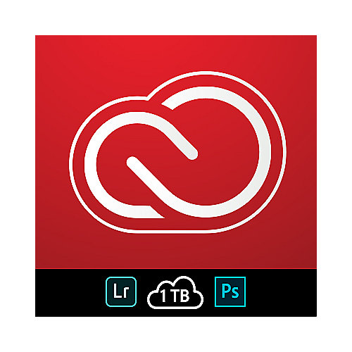 Adobe Creative Cloud Foto-Abo (Lightroom & Photoshop) 1 TB - ESD #NEU mit 1 TB