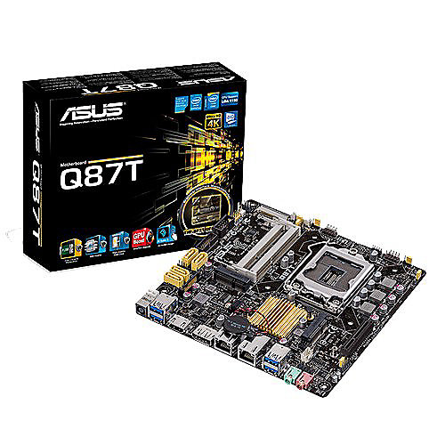 ASUS Q87T/CSM Thin mini ITX Mainboard 1150 DP/HDMI/USB3.1 | 4716659595014