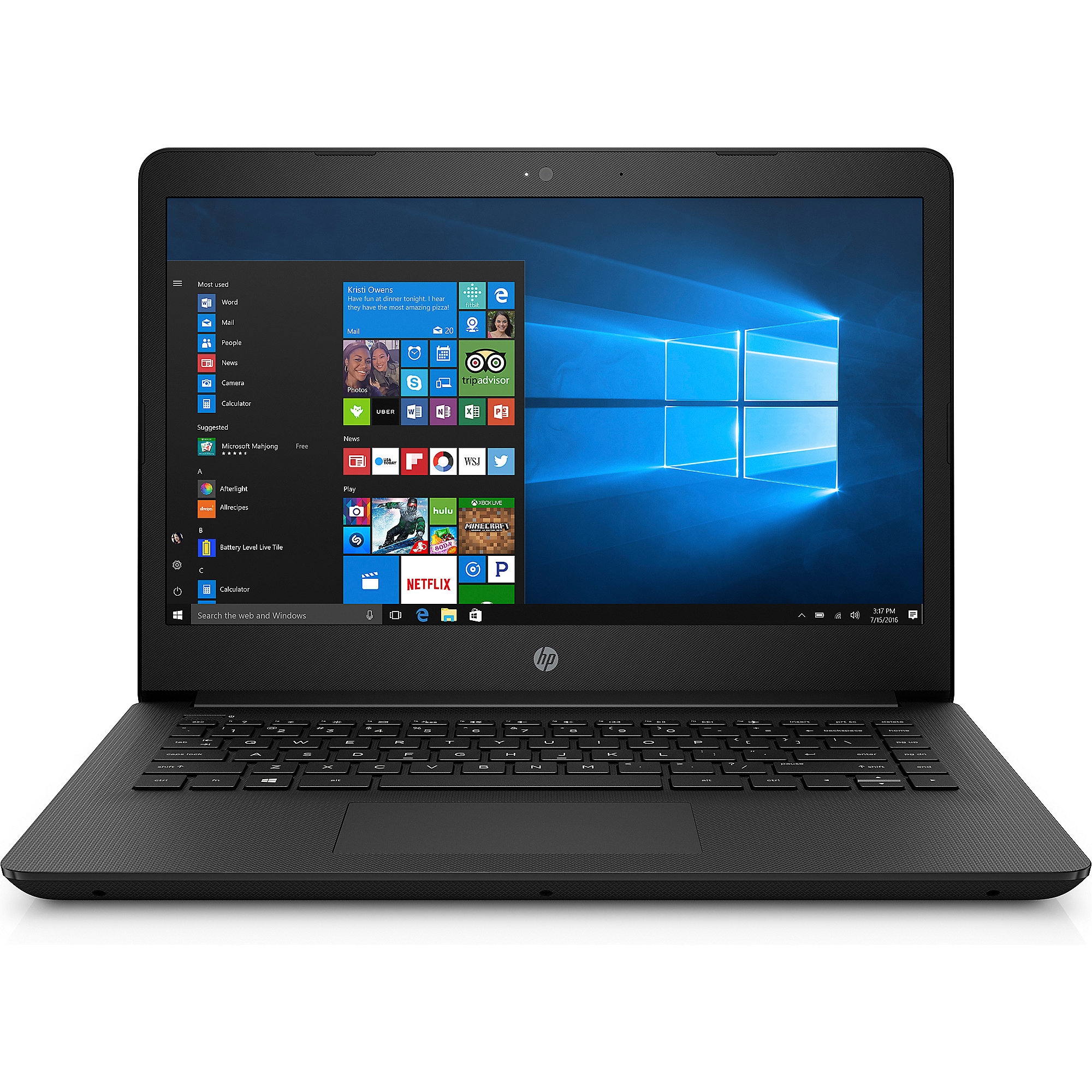 "HP 14-bp001ng N3710 4GB/500GB 14""HD W10 FC"
