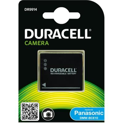 Duracell  Li-Ion-Akku für Panasonic DMW-BCE10   5055190113547