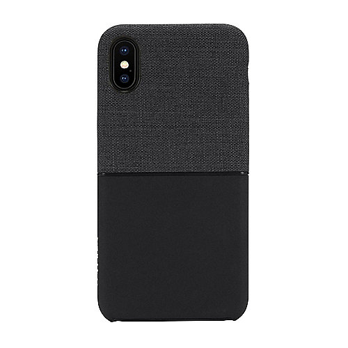 Incase Textured Snap Case für das Apple iPhone X schwarz