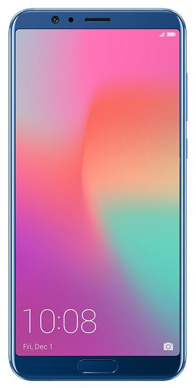 Honor View 10 navy blue Dual-SIM Android 8.0 Smartphone mit Dual-Kamera