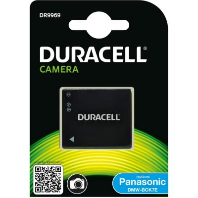 Duracell  Li-Ion-Akku für Panasonic DMW-BCK7 | 5055190137000