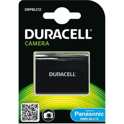 Duracell  Li-Ion-Akku für Panasonic DMW-BLC12   5055190140512