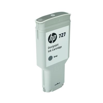 HP  F9J80A Original Tintenpatrone 727 Grau 300ml | 0889296103349
