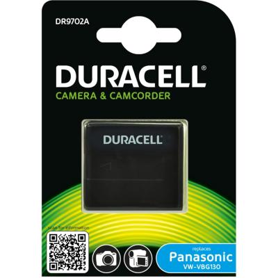 Duracell  Li-Ion-Akku für Panasonic VW-VBG130 | 5055190114698
