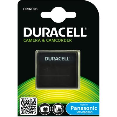 Duracell  Li-Ion-Akku für Panasonic VW-VBG260 | 5055190114704